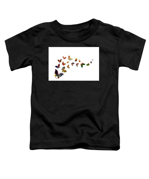 Butterflies Toddler T-Shirt
