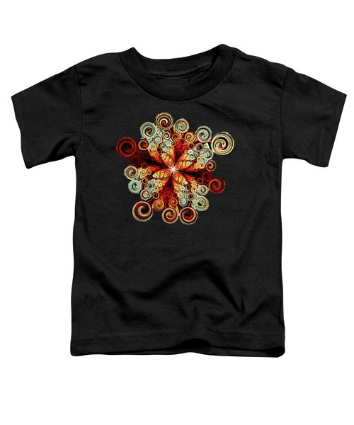 Butterfly And Bubbles Toddler T-Shirt