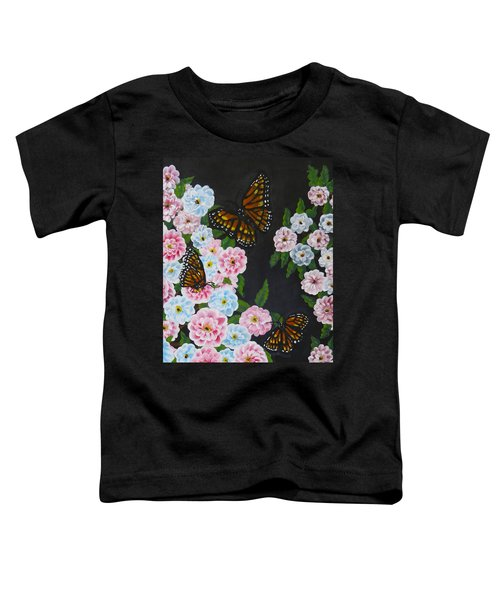 Butterfly Beauty Toddler T-Shirt by Teresa Wing