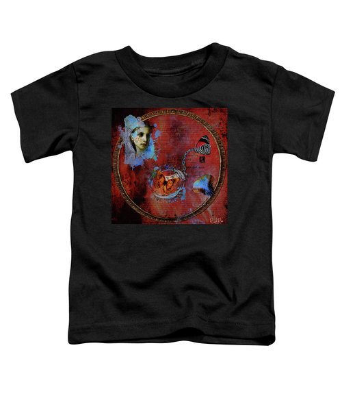 Butterfly Circle Of Love Toddler T-Shirt