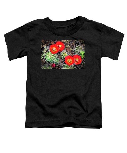 Cactus Bloom Toddler T-Shirt