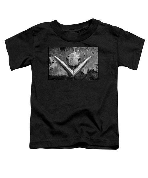 Cadillac Emblem On Rusted Hood Toddler T-Shirt