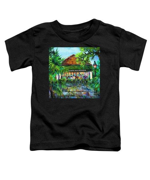 Cafe Du Monde Morning Toddler T-Shirt