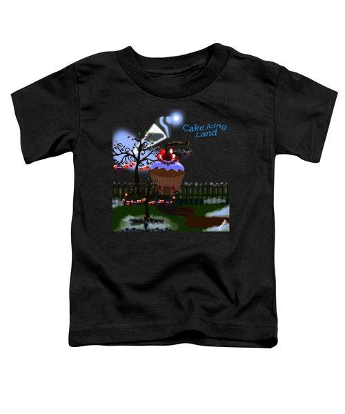 Cake Icing Land Toddler T-Shirt