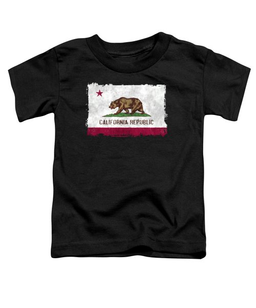 California Flag Toddler T-Shirt