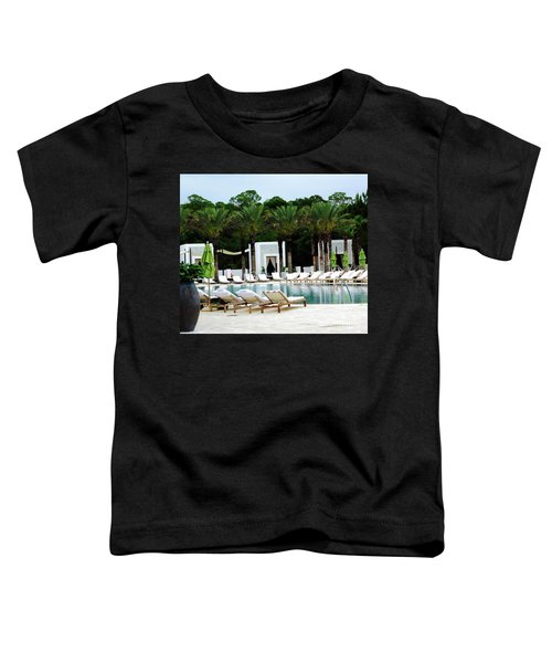 Caliza Pool In Alys Beach Toddler T-Shirt