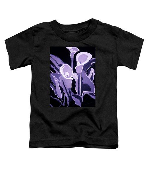 Calla Lillies Lavender Toddler T-Shirt