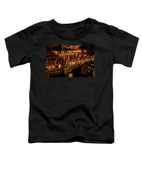 Candle Offerings St. Patrick Cathedral Toddler T-Shirt