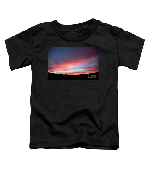 Capital Reef Sunset Toddler T-Shirt