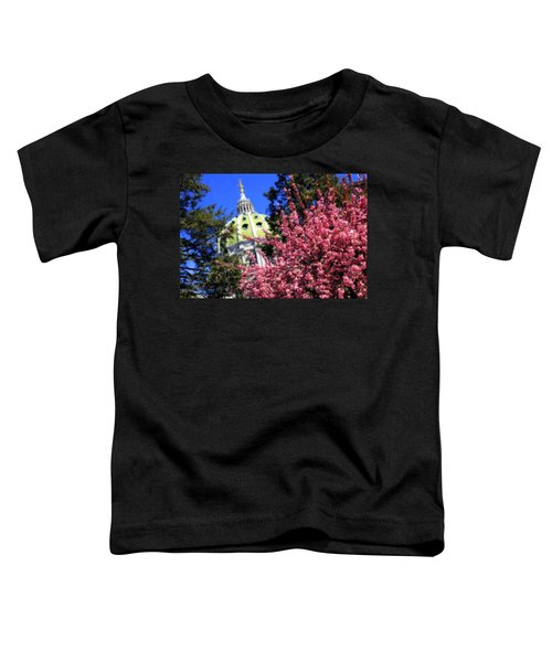 Capitol In Bloom Toddler T-Shirt