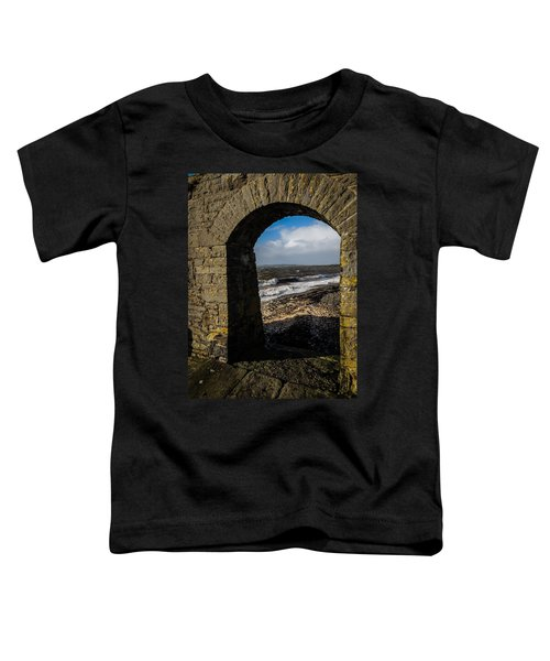 Toddler T-Shirt featuring the photograph Cappagh Pier And Ireland's Shannon Estuary by James Truett