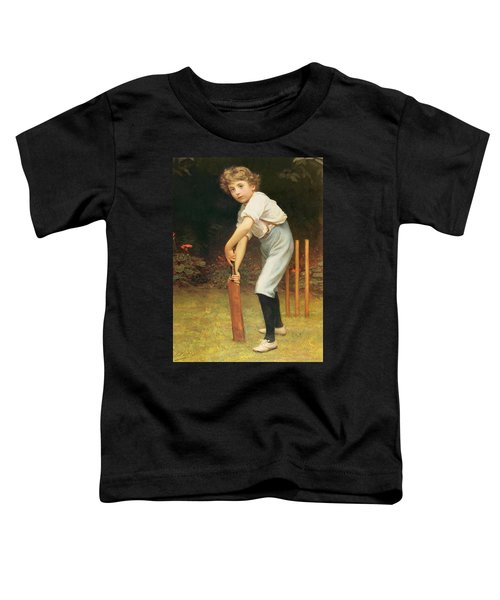 Captain Of The Eleven Toddler T-Shirt by Philip Hermogenes Calderon
