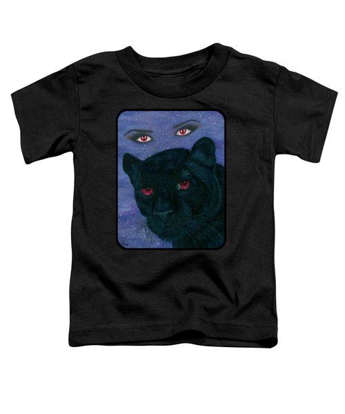 Carmilla - Black Panther Vampire Toddler T-Shirt