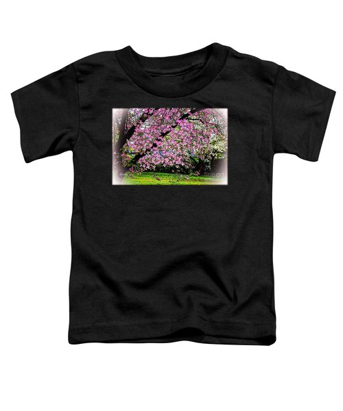 Cascading Dogwood Copyright Mary Lee Parker 17, Toddler T-Shirt