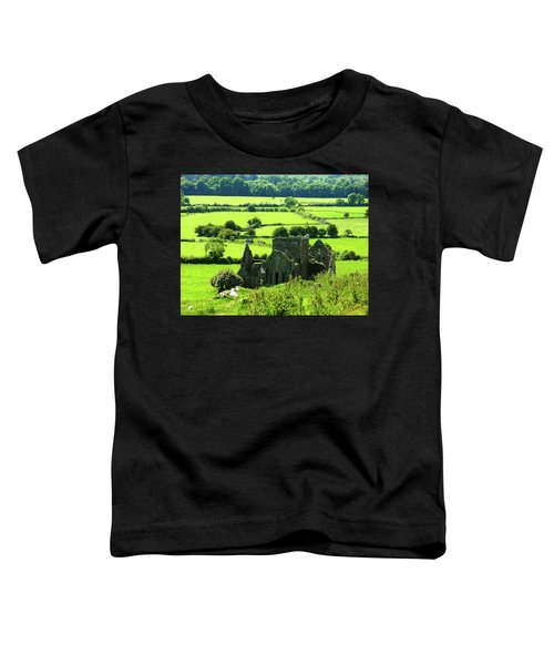 Castle Ruins Countryside Toddler T-Shirt