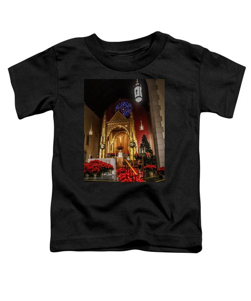 Catholic Christmas Toddler T-Shirt