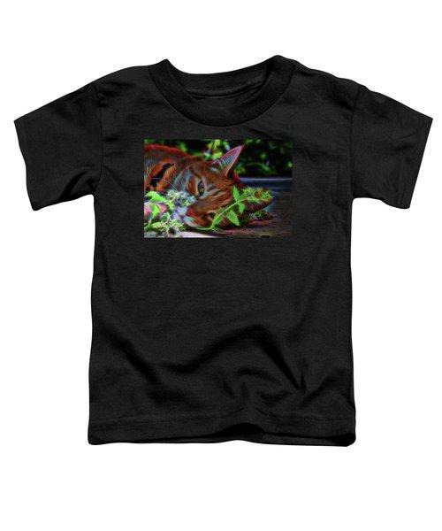 Catnip Chillin Toddler T-Shirt