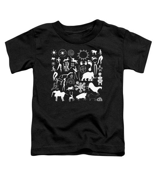 Cave Paintings - Aboriginal Art Toddler T-Shirt