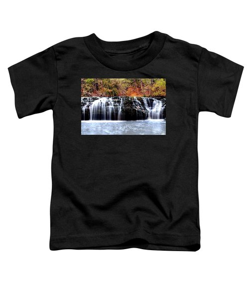 Cedar Creek Falls, Kansas Toddler T-Shirt