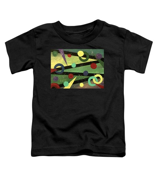 Celebration Toddler T-Shirt by Teresa Wing