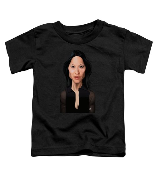 Celebrity Sunday - Lucy Liu Toddler T-Shirt