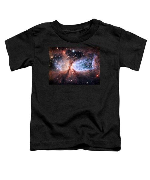 Toddler T-Shirt featuring the photograph Celestial Snow Angel - Enhanced - Sharpless 2-106 by Adam Romanowicz