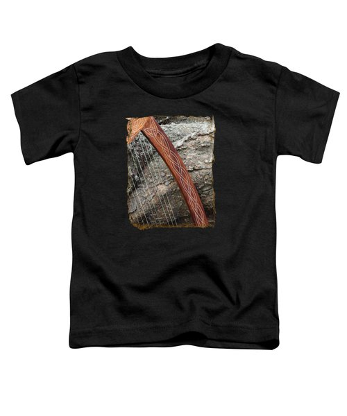 Celtic Harp And The Fallen Tree Toddler T-Shirt