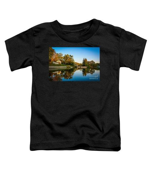 Centerport Harbor Autumn Colors Toddler T-Shirt