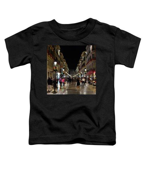 Centro De Malaga By Night - #ig_malaga Toddler T-Shirt
