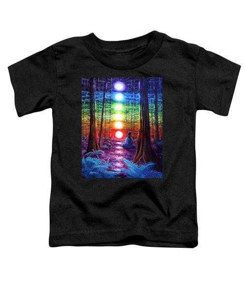 Chakra Meditation In The Redwoods Toddler T-Shirt