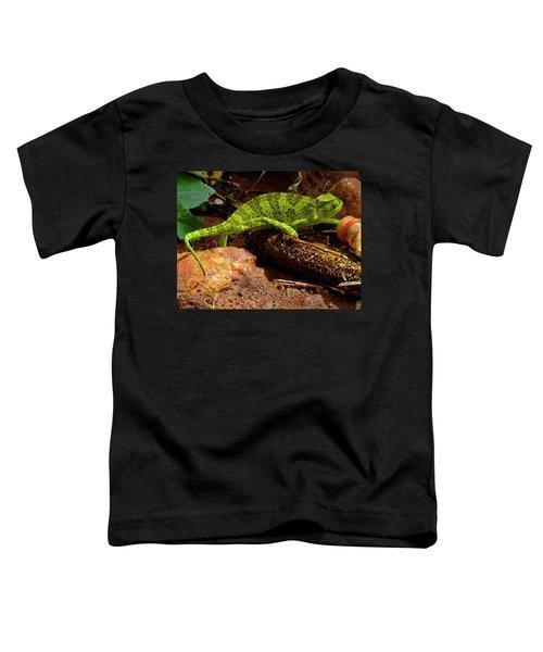 Chameleon Struts His Stuff Toddler T-Shirt