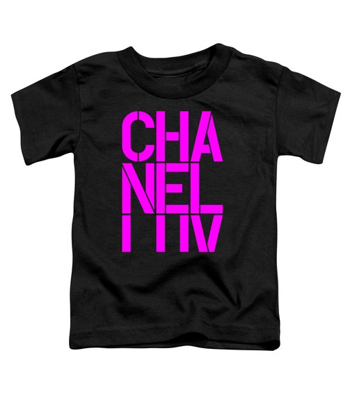 Chanel Luv-4 Toddler T-Shirt
