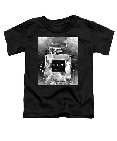 Chanel No. 5 Dark Toddler T-Shirt