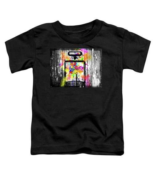 Chanel No. 5 Wooden Toddler T-Shirt