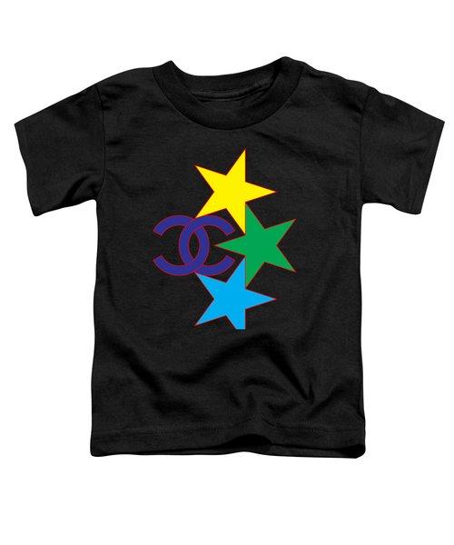 Chanel Stars-1 Toddler T-Shirt