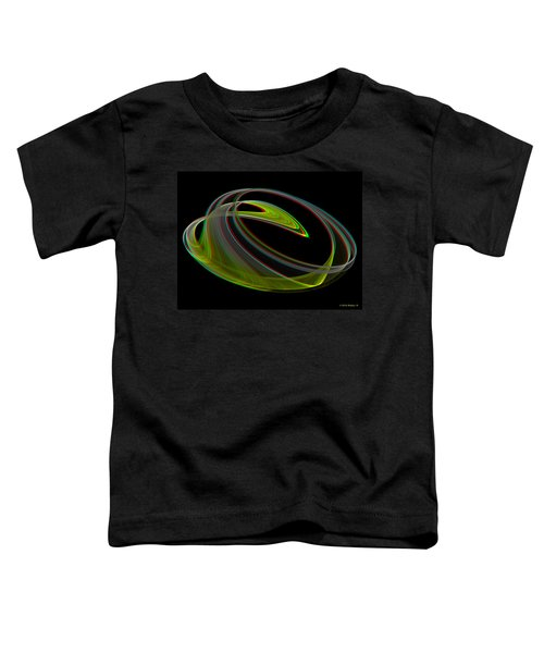 Chaoscope Design 3 - Use Red-cyan 3d Glasses Toddler T-Shirt