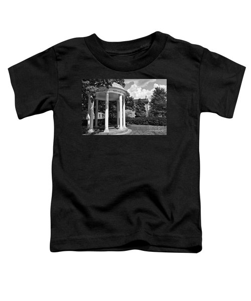 Chapel Hill Old Well In Black And White Toddler T-Shirt