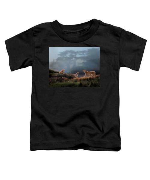 Cheetahs In The Mist Toddler T-Shirt