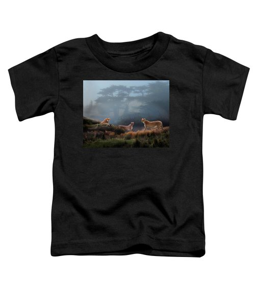 Cheetahs In The Mist Toddler T-Shirt