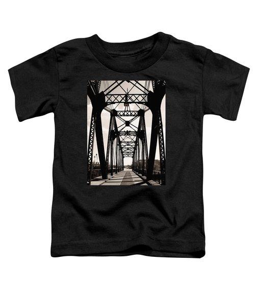 Cherry Avenue Bridge Toddler T-Shirt