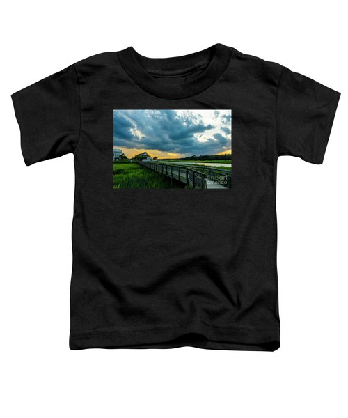 Cherry Grove Channel Marsh Toddler T-Shirt