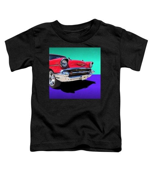 Chevrolet Bel Air Color Pop Toddler T-Shirt