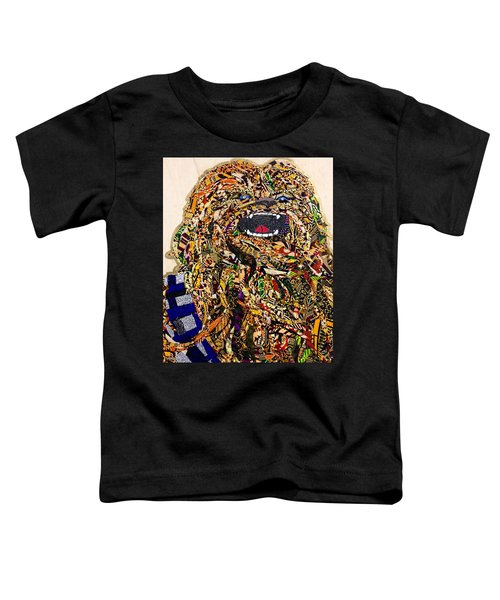 Chewbacca Star Wars Awakens Afrofuturist Collection Toddler T-Shirt