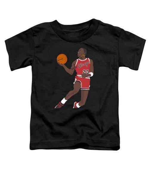 Chicago Bulls - Michael Jordan - 1985 Toddler T-Shirt