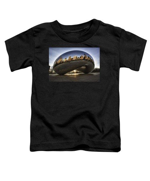 Chicago Cloud Gate At Sunrise Toddler T-Shirt