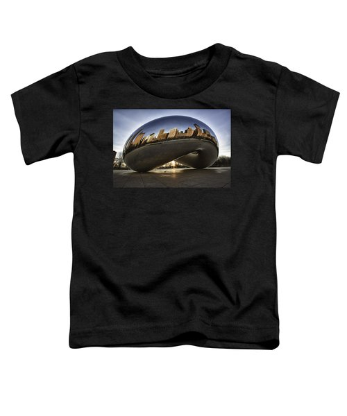 Chicago Cloud Gate At Sunrise Toddler T-Shirt
