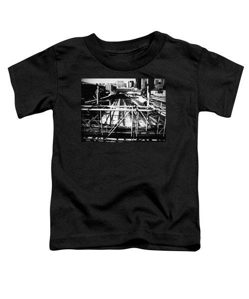 Chicago Railroad Yard Toddler T-Shirt