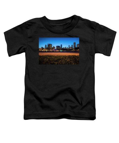 Chicago's Buckingham Fountain At Dusk  Toddler T-Shirt