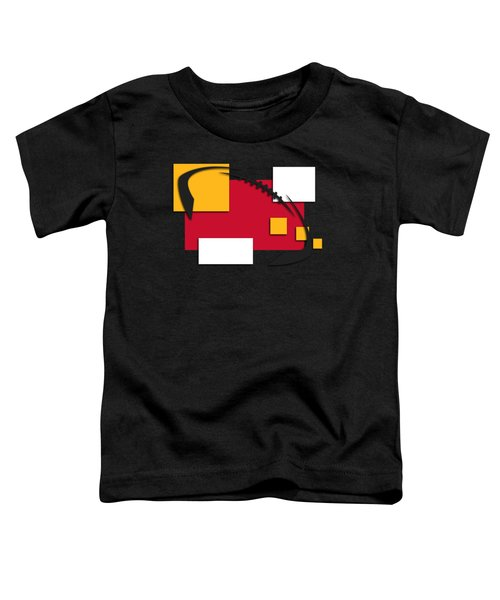Chiefs Abstract Shirt Toddler T-Shirt by Joe Hamilton