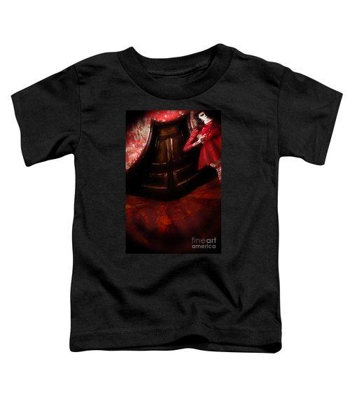 Chilling Female Killer Inside Spooky Horror House Toddler T-Shirt